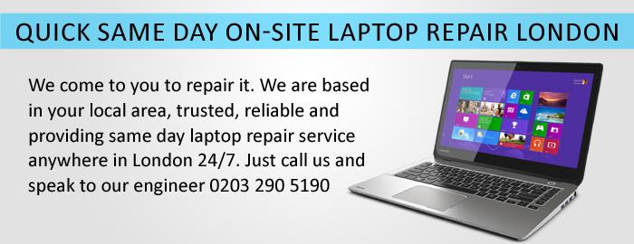 laptop repair london