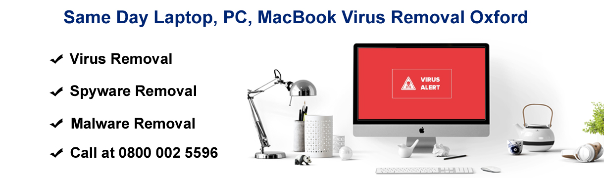 laptop virus removal oxford